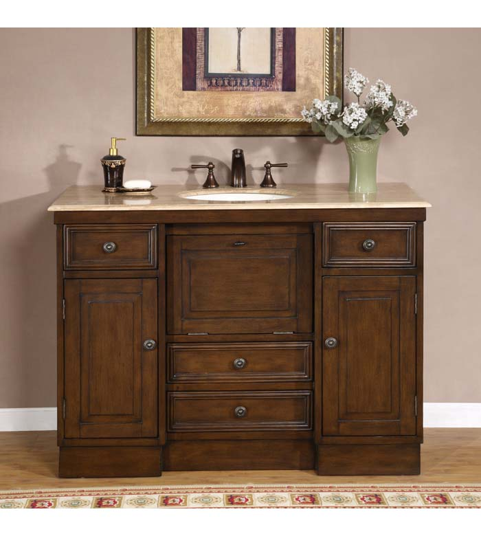 Traditional 48'' single bathroom vanities vanity sink (KB718)