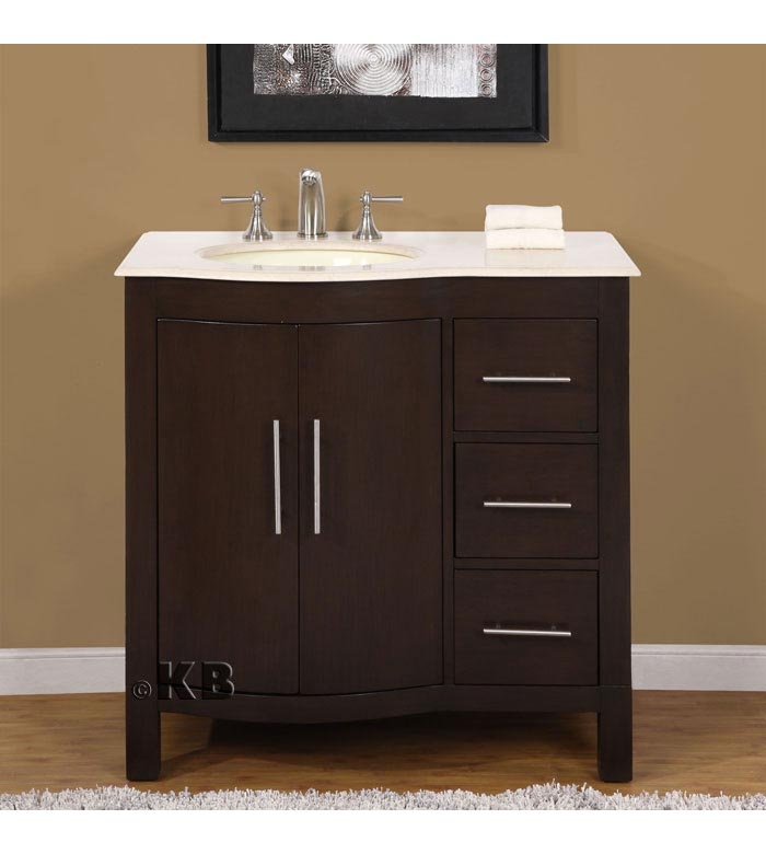 Traditional 36'' single bathroom vanities vanity sink (KB913)