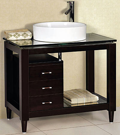 33.5'' Cabinet bathroom vanities vanity sink set (GVC019)