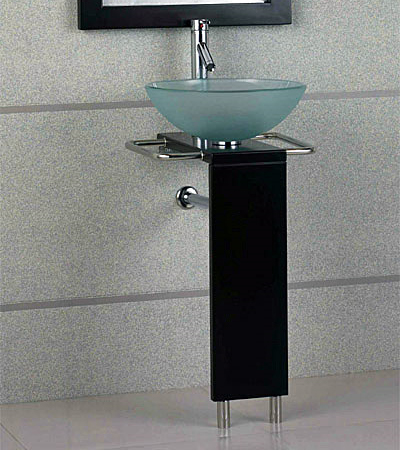 Pedestal bathroom vanities vanity sink set (GVP002)