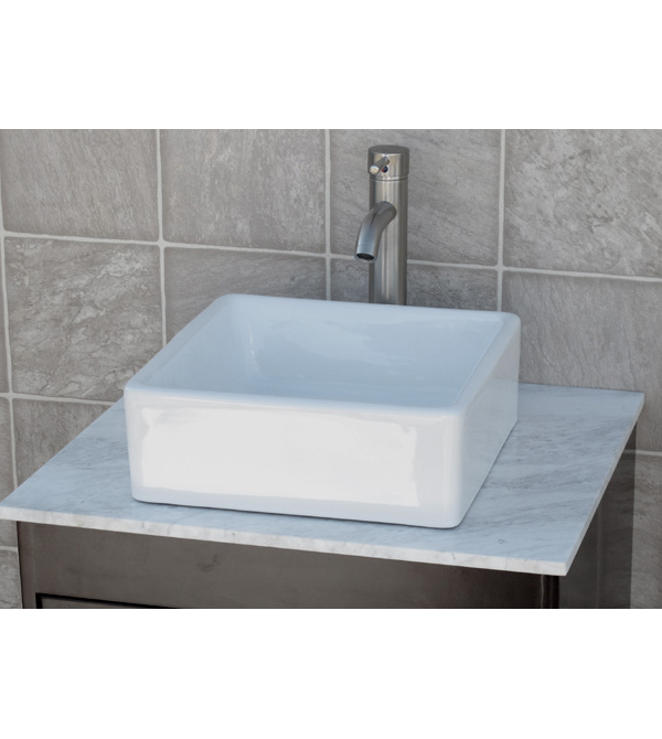 Square ceramic porcelain sink (CC7098)