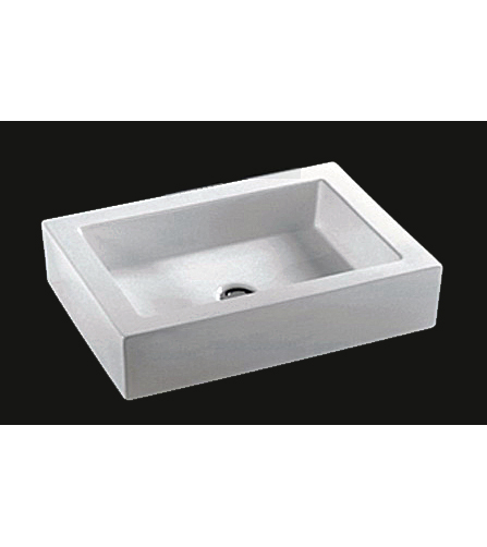Rectangle ceramic porcelain sink (CC7241)