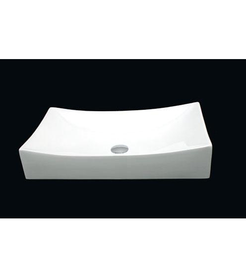 Rectangle bowl ceramic porcelain sink (CW041)