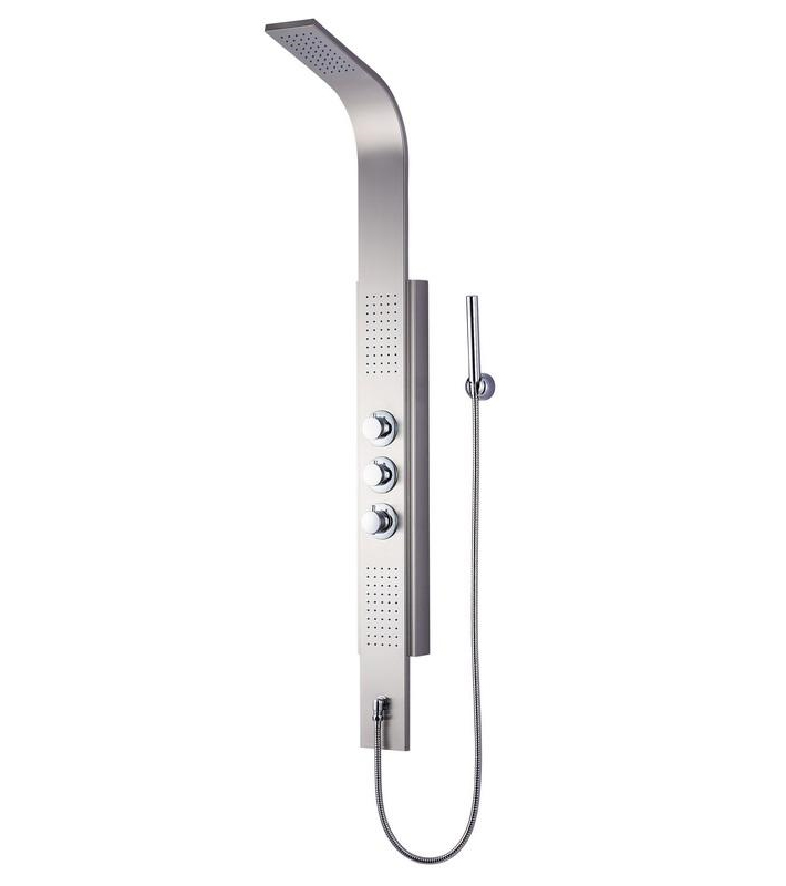 Stainless steel shower panel SPA massage system (KBS003)