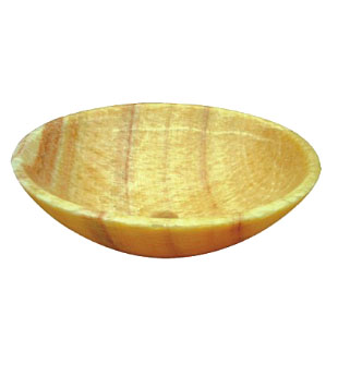 Honey comb 100% natural marble stone vessel sink (SB103)
